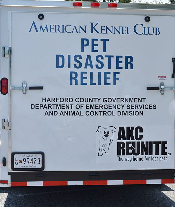 AKC Reunite Pet Disaster Relief Trailer Project.