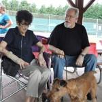 Members Alma, Steve, & Jamie