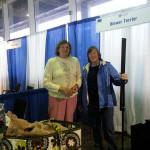 Ann Schultz & Joye Engle at NY Meet the Breeds.
