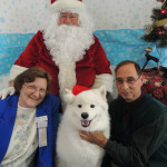 Santa with Ann & Tommy Schultz and Ducky
