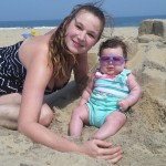 Joanne & Elizabeth at the beach HON!