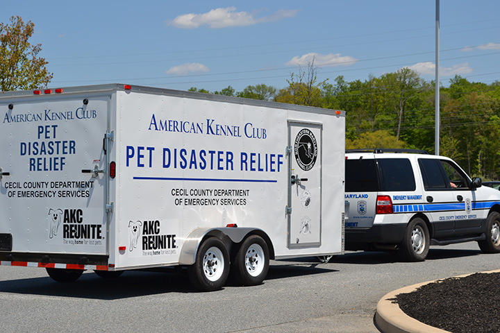 AKC Reunite Pet Disaster Relief emergency trailer - photo 2.