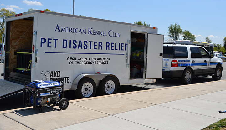 AKC Reunite Pet Disaster Relief emergency trailer - photo 3.