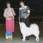 Ann Schultz and Sofia winning at the show.